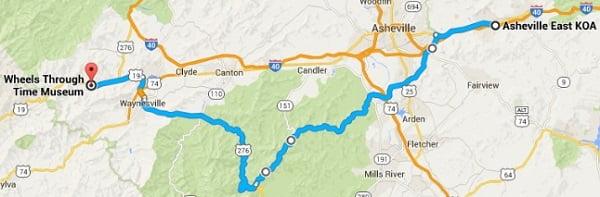 Ride-Thu-Option-3 -Wheels Through Time 276 route-web
